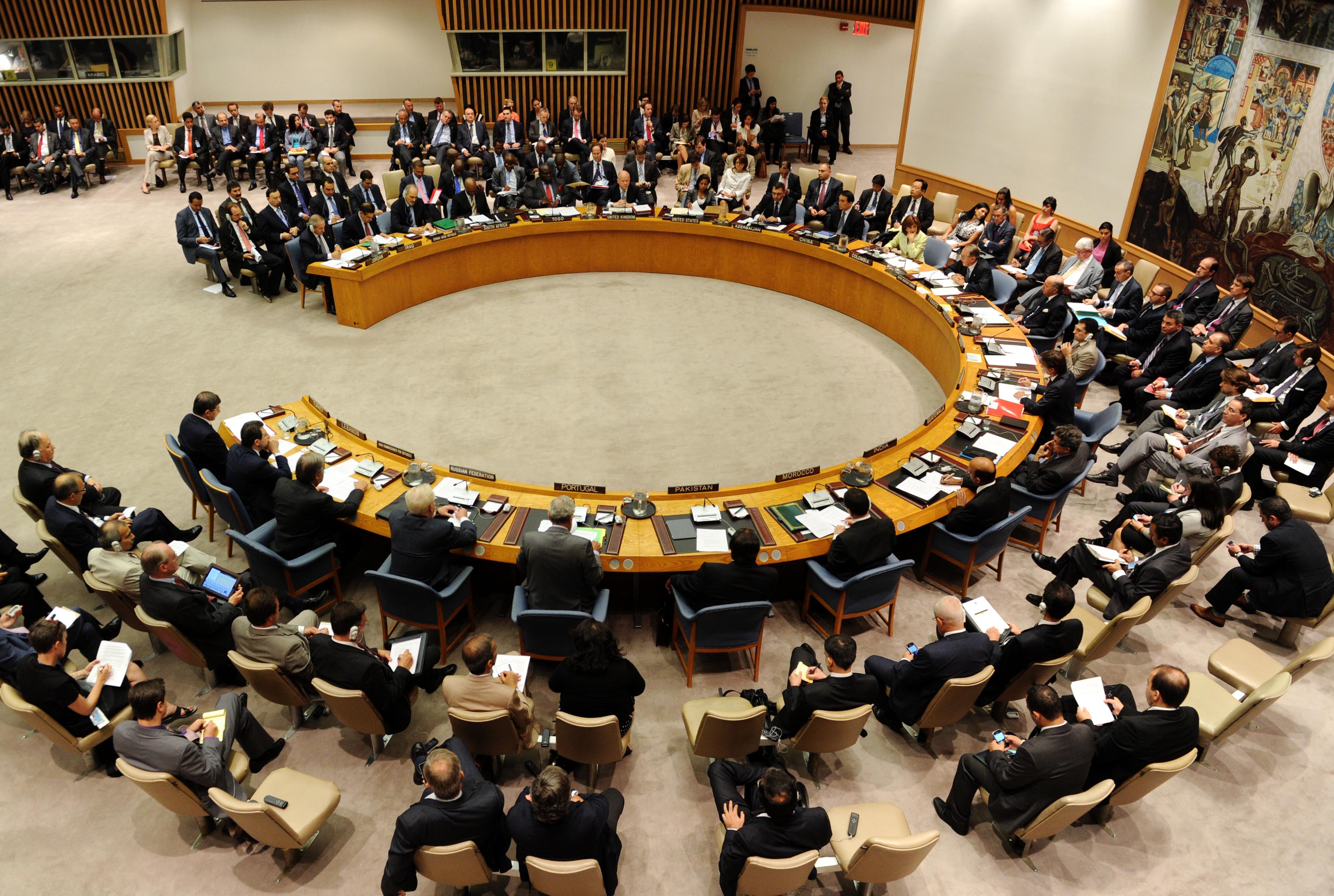 ONU : réunion du Conseil de sécurité sur la Syrie